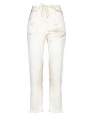 Повседневные брюки LIVIANA CONTI. Цвет: слоновая кость