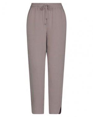 Повседневные брюки IRIS VON ARNIM. Цвет: голубиный серый