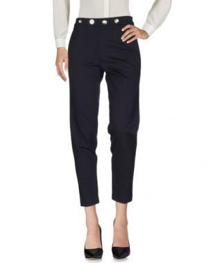 Повседневные брюки ANNARITA N. Цвет: темно-синий
