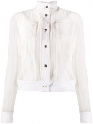 Джинсовая куртка 2006-го года Gianfranco Ferré Pre-Owned. Цвет: нейтральные цвета