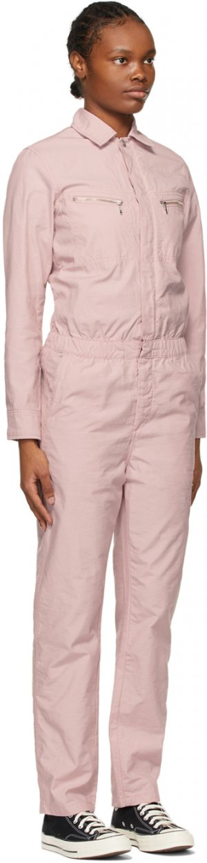 Pink Boiler Jumpsuit Carhartt Work In Progress. Цвет: frosted pin
