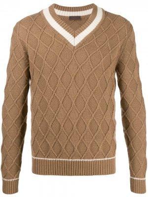 Argyle knit jumper Altea