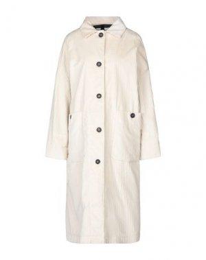 Легкое пальто ATTIC AND BARN. Цвет: слоновая кость