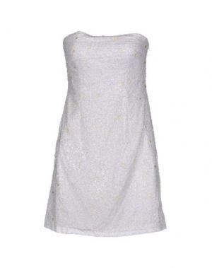 Короткое платье BASIX. Цвет: белый