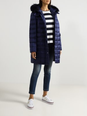 Стеганая куртка Basler. Цвет: siniy
