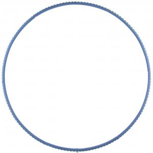 Обруч гимнастический Torneo. Цвет: синий