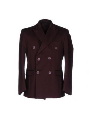 Пиджак MNML COUTURE. Цвет: красно-коричневый