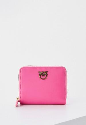 Кошелек Pinko. Цвет: розовый