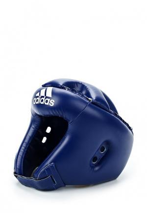 Шлем adidas Combat Rookie. Цвет: синий