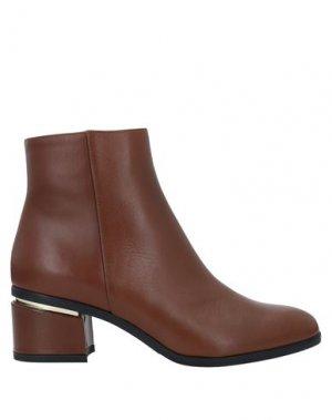 Полусапоги и высокие ботинки ALBANO. Цвет: желто-коричневый