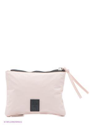 Косметичка Friis. Цвет: бледно-розовый