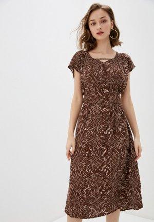 Платье Bulmer. Цвет: коричневый