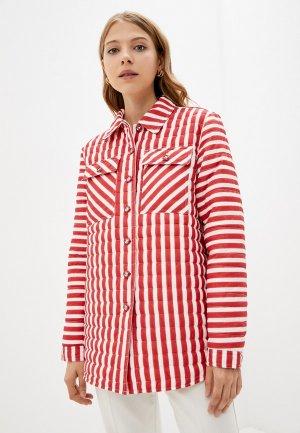 Куртка утепленная Bulmer. Цвет: красный