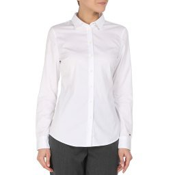 Рубашка WW0WW27113 белый TOMMY HILFIGER