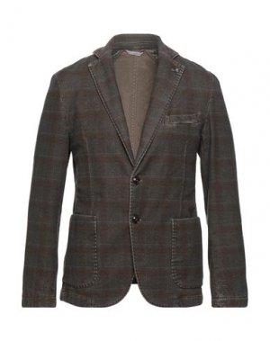 Пиджак EXIGO. Цвет: хаки