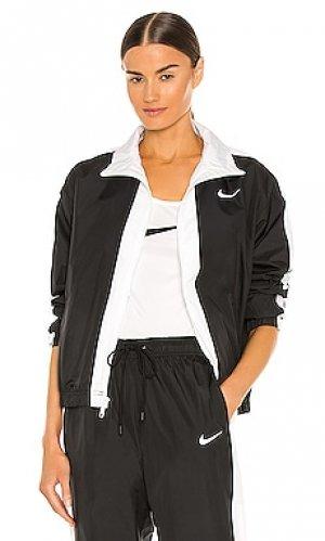 Куртка nsw rpl essntl gx jkt Nike. Цвет: черный