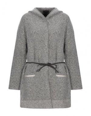 Пальто ANNECLAIRE. Цвет: серый