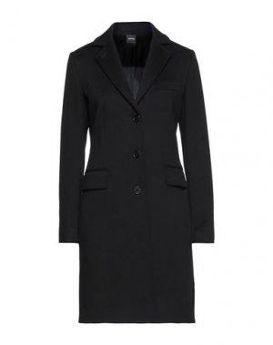 Пальто ASPESI. Цвет: черный