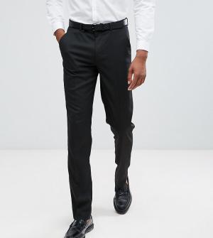 Черные облегающие брюки Tall ASOS DESIGN