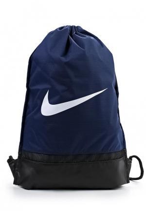 Мешок Nike Brasilia. Цвет: синий