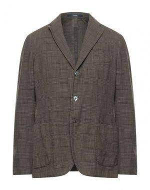 Пиджак DRUMOHR. Цвет: коричневый