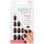 Накрашенные накладные ногти Pre Polished Nails — Garnet Elegant Touch