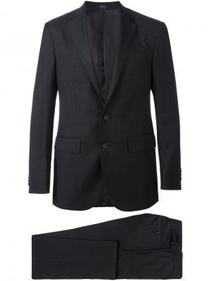 Классический костюм Polo Ralph Lauren. Цвет: серый
