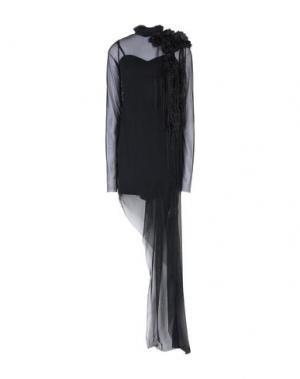 Короткое платье MANGANO. Цвет: черный