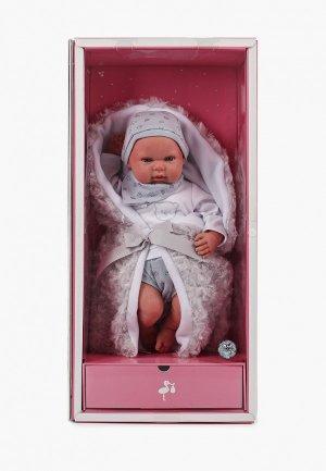 Набор игровой Arias ReBorns  Alejandro реалистичные, мягкое тело, новорождённый пупс, 45 см.. Цвет: разноцветный