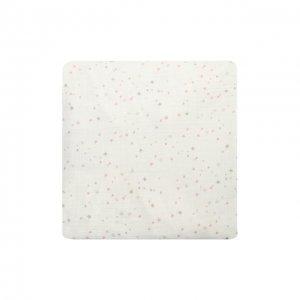 Хлопковая пеленка для пеленального стола Aden+Anais. Цвет: белый