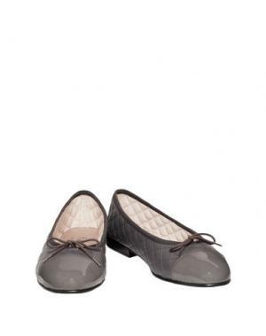 Балетки FRENCH SOLE. Цвет: свинцово-серый