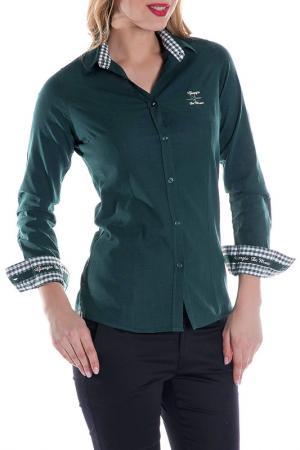 Рубашка GIORGIO DI MARE. Цвет: dark green