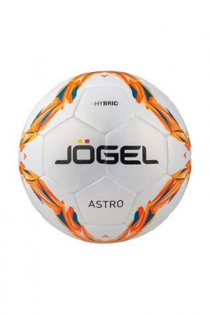 Мяч футбольный JS-760 Astro №5 Jogel. Цвет: оранжевый, желтый, красный