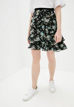 Юбка Juicy Couture. Цвет: черный