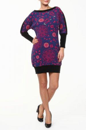 Платье GINGER+SOUL. Цвет: розовый