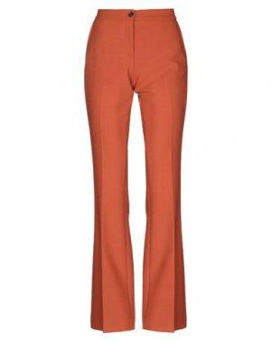 Повседневные брюки VIA MASINI 80. Цвет: коричневый