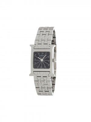 Наручные часы Heure H PM HH1.210 pre-owned 21 мм Hermès. Цвет: серебристый