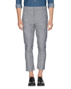 Повседневные брюки ANERKJENDT. Цвет: серый