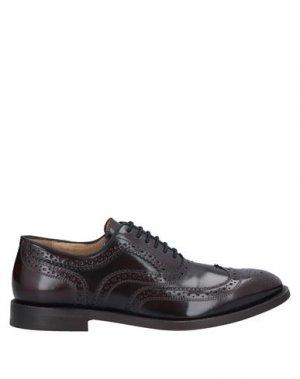 Обувь на шнурках HUDSON. Цвет: красно-коричневый