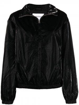 Бомбер с логотипом Calvin Klein Jeans. Цвет: черный