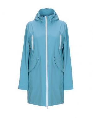Легкое пальто PEOPLE OF SHIBUYA. Цвет: небесно-голубой