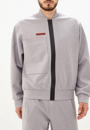 Куртка Chapurin. Цвет: серый
