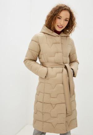 Куртка утепленная Allegri. Цвет: бежевый