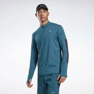 Олимпийка Running Essentials Reebok. Цвет: heritage teal