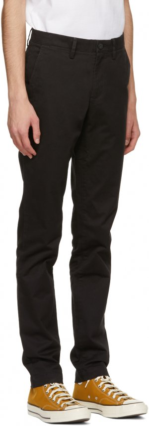 Black Gabardine Slim-Fit Chino Trousers Lacoste. Цвет: 031 black
