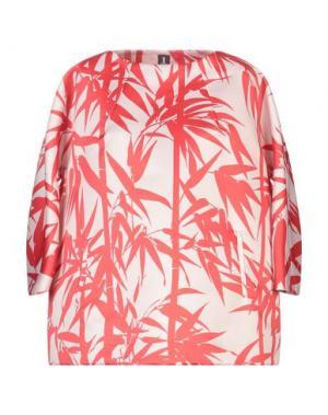 Блузка 1-ONE. Цвет: красный