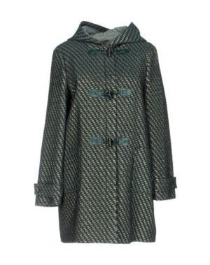 Пальто ...À_LA_FOIS.... Цвет: темно-зеленый