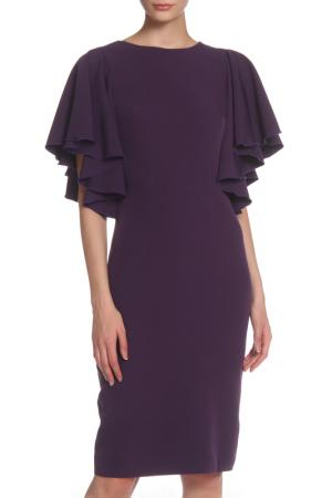 Платье IQDRESS. Цвет: баклажановый