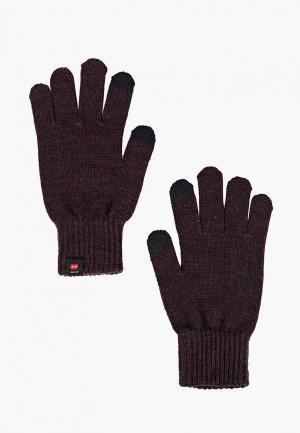 Перчатки Jack & Jones JA391DMBYDY0. Цвет: бордовый