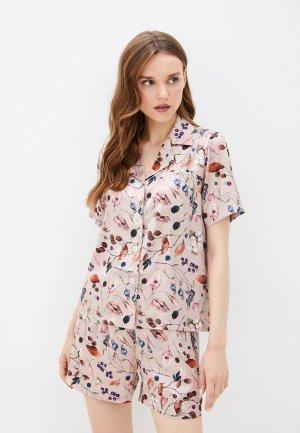 Пижама Argent. Цвет: розовый